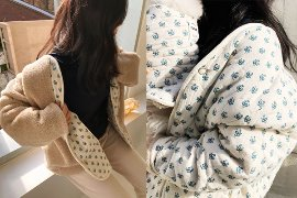[For Woman 프리오더]flower dumble jacket(reversible) / ivory-beige12/16 오후2시 프리오더OPEN